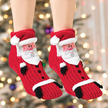 Santa Slipper Socks