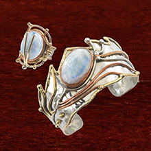 Mystical Moonstone Ring