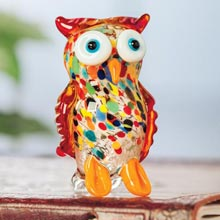 Art Glass Owl