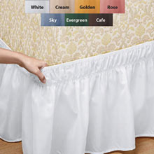Oh-So-Easy Stretch Bedskirt