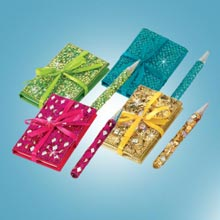 Bejewelled Notebook & Pen Set