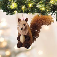 Buri Wildlife Ornaments - Squirrel
