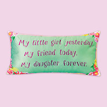 Daughter Forever Pillow