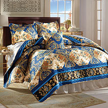 Persian Nights Quilt Set & Accessory