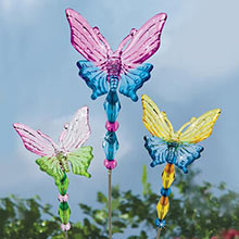 Mini Butterfly Plant Stakes