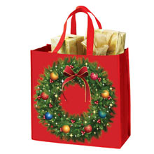 Holiday Wreath Tote