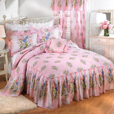 Daisy Stripe Bedding