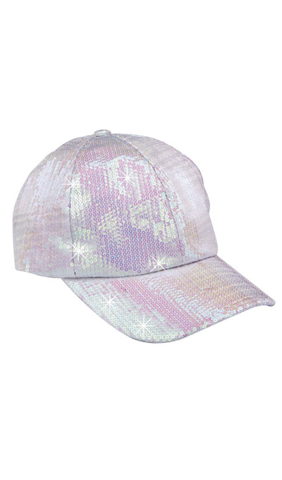 Sequined Glamour Cap
