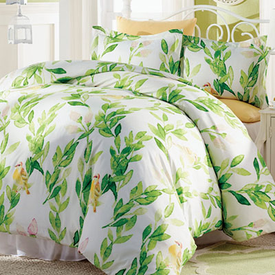 Bird Trellis Duvet Set