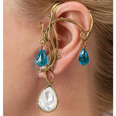 Crystal Goddess Ear Wrap