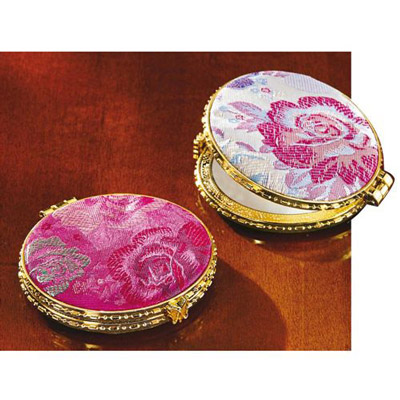 Damask Double Compacts