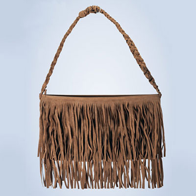 Lavishly Fringed Purse