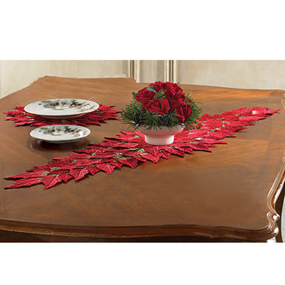 Poinsettia Runner