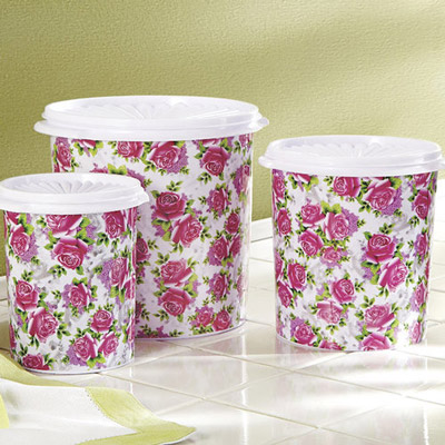 English Garden Canister Set