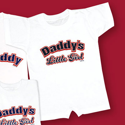 Like Daddy Like Daughter-Infant Romper