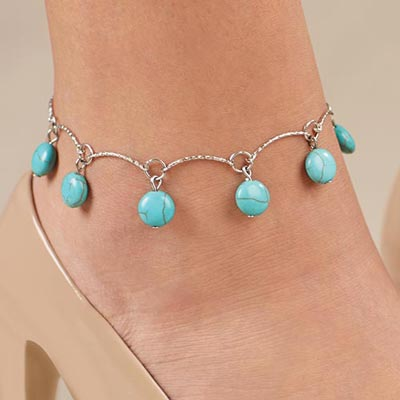 Southwest Scalloped Anklet