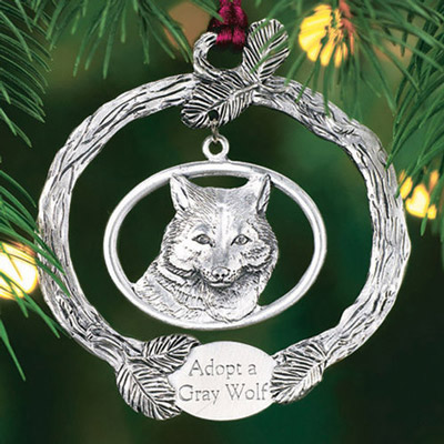 Ornament with a Purpose - Grey Wolf