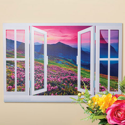 Hillside Garden Canvas Print