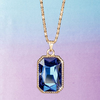 Cerulean Pendant Necklace