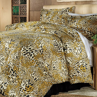 Wild Cat Duvet Set