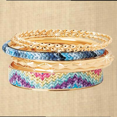 Colourful Bracelet Set