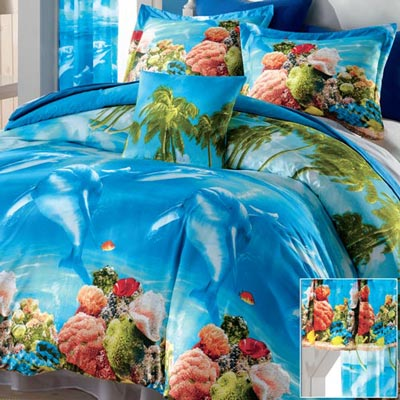 Dolphin Delight Duvet Set & Accessories