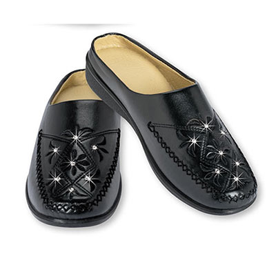Embroidered & Blinged-Out Clogs