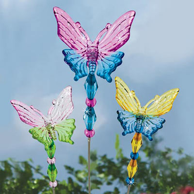 Mini Butterfly Plant Stake