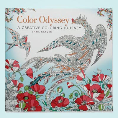 Colour Odyssey Colouring Book