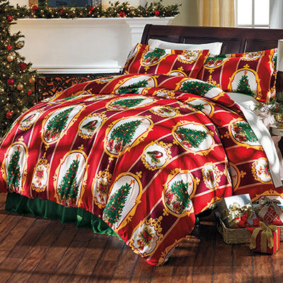 Christmas Traditions Duvet Set & Accessory