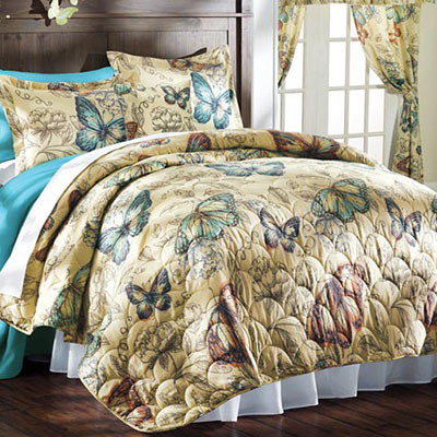 Butterflies in Flight Quilt Set & Accessories