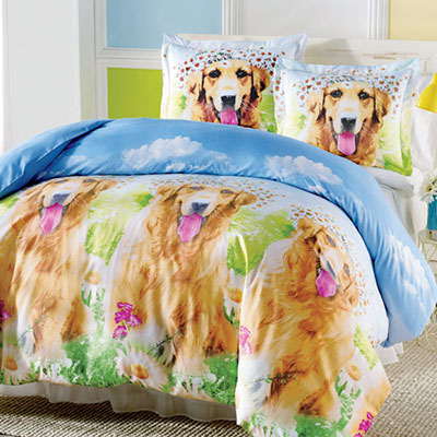 Daisy Dog Duvet Set