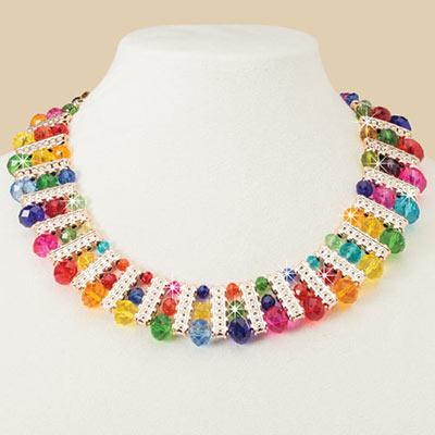 Shimmering Colours Necklace