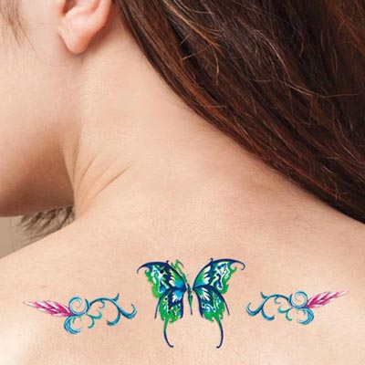Beautiful Butterfly Tattoos - Set of 15