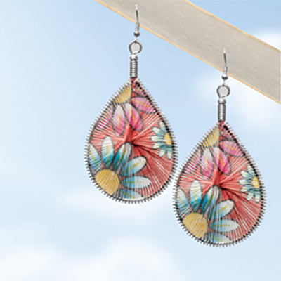 Daisy Dreamcatcher Earrings