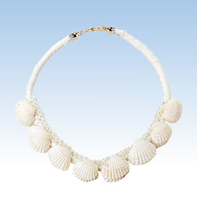 Goddess Seashell Necklace
