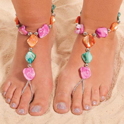 Colorful Splash Barefoot Jewelry - Set of 2