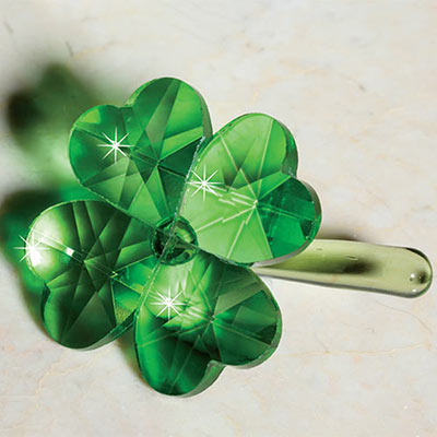 Crystal Four LeafClover