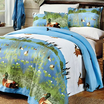 Birds in Flight Fleece Blankets & Accessories