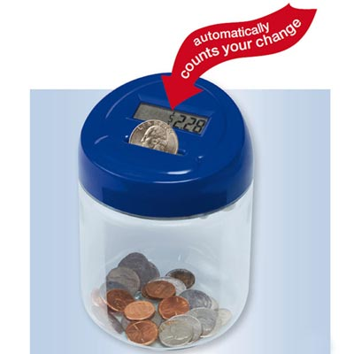 Digi-Count Money Jar