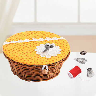 Mini Sewing Basket Set