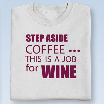 A Job for Wine Tee