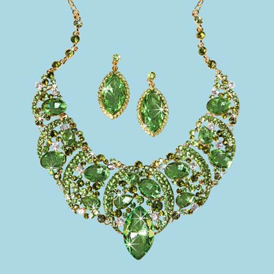 Enchanted Garden Jewellery Set