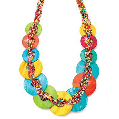 Island Colours Shell Necklace