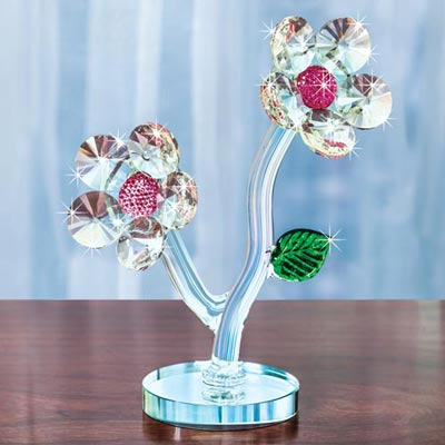Crystal Double Flower