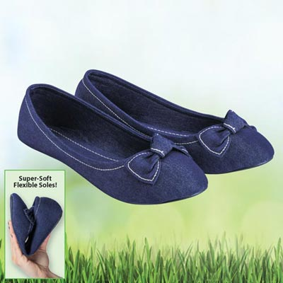 Denim Loafers