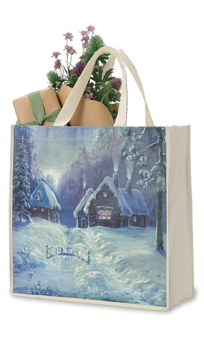 Christmas Village Tote