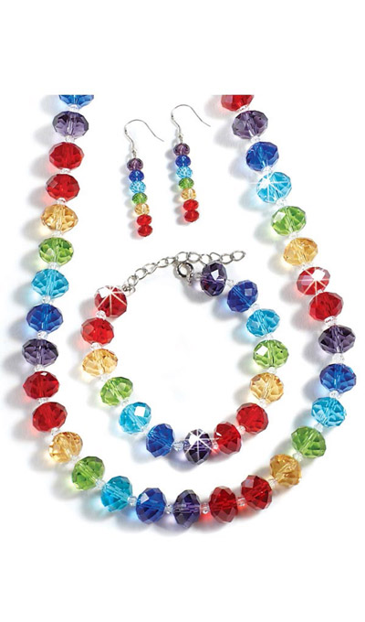 Rainbow Crystal Jewellery