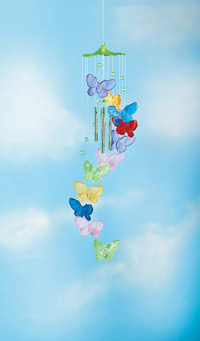 Colourful Butterfly Chime
