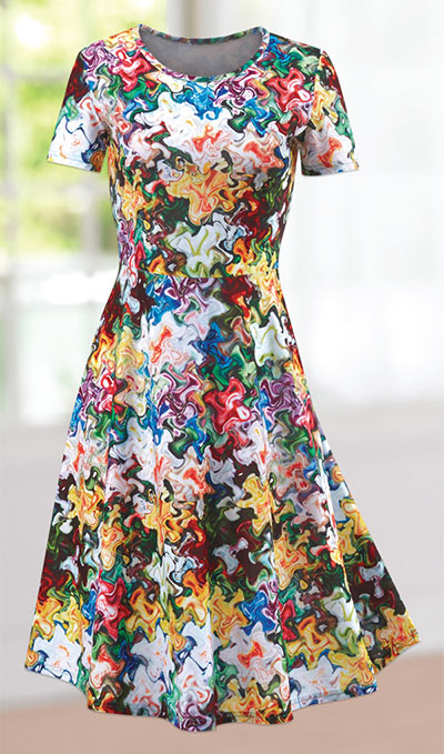 Garden Reflections Dress